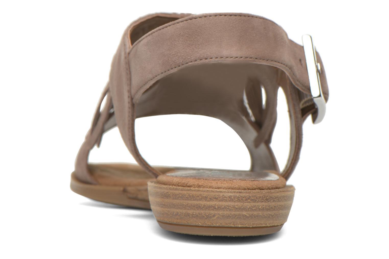 Sandali e scarpe aperte Unisa Amolo Marrone immagine destra