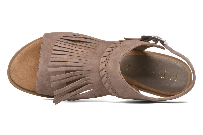 Sandali e scarpe aperte Unisa Amolo Marrone immagine sinistra
