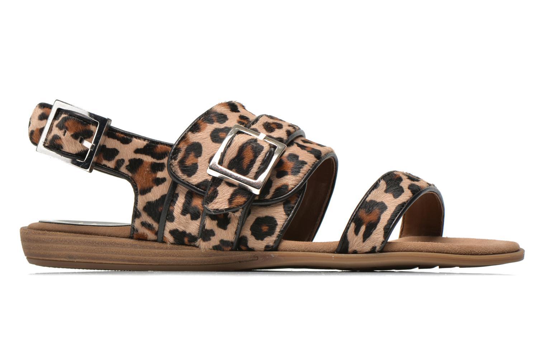 Sandales et nu-pieds Unisa Adore Marron vue derrière
