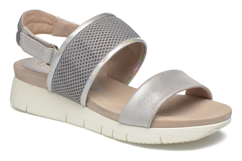 Sandaler Unisa Barce Sølv detaljeret billede af skoene
