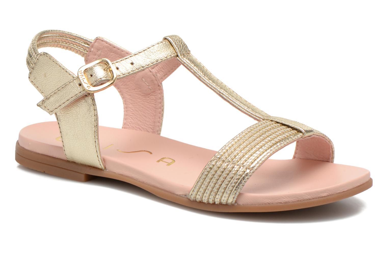 Sandales et nu-pieds Unisa Lendo Or et bronze vue détail/paire