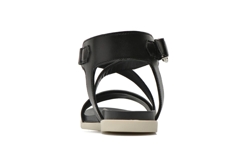 Sandales et nu-pieds Unisa Pacy Noir vue droite