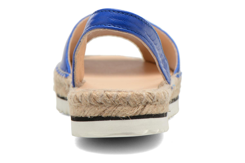 Sandales et nu-pieds Anaki Tequila Bleu vue droite