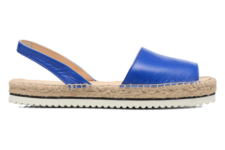 Sandales et nu-pieds Anaki Tequila Bleu vue derrière