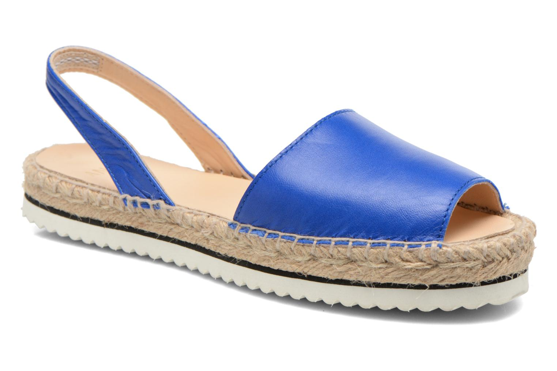 Sandales et nu-pieds Anaki Tequila Bleu vue détail/paire