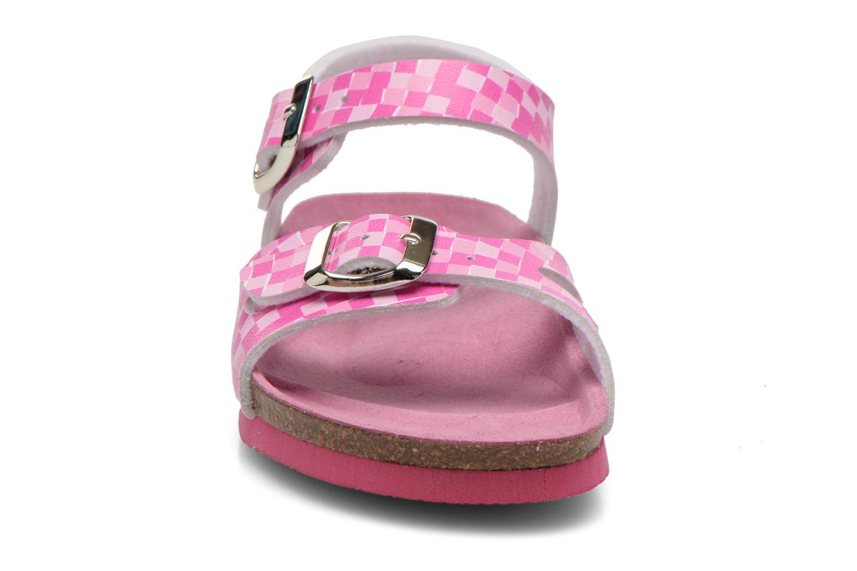 Sandales et nu-pieds Agatha Ruiz de la Prada Bio Agatha Rose vue portées chaussures