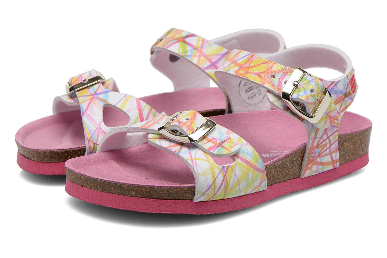 Sandales et nu-pieds Agatha Ruiz de la Prada Bio Agatha Multicolore vue 3/4