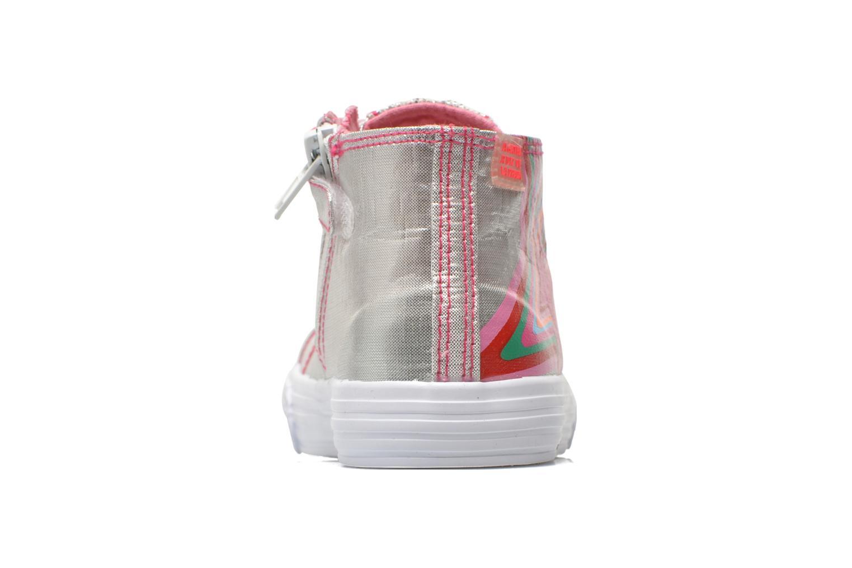 Baskets Agatha Ruiz de la Prada Sunny Mid Lollipop Argent vue droite