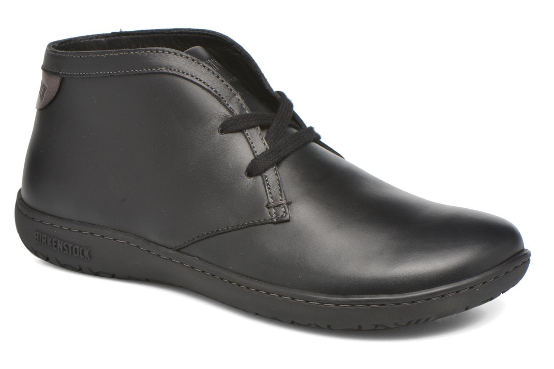 Snøresko Birkenstock Scarba Ladies Sort detaljeret billede af skoene