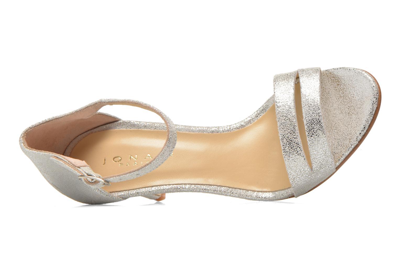 Sandales et nu-pieds Jonak Dream Argent vue gauche