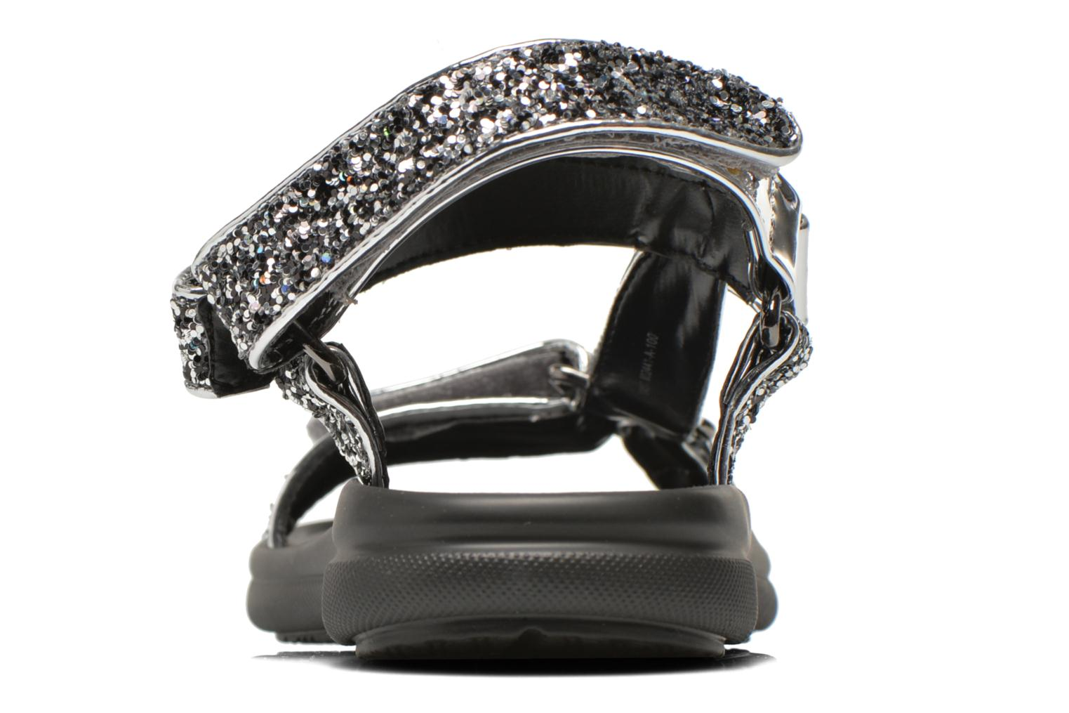 Sandals Blink Kuri Silver view from the right