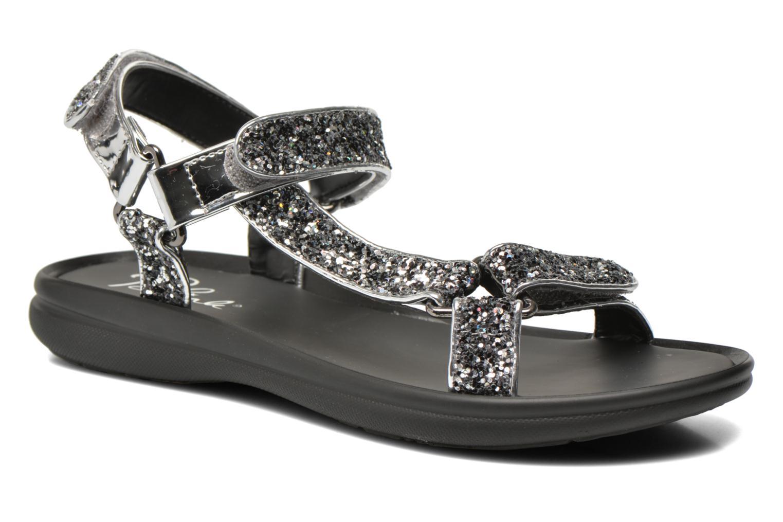 Sandals Blink Kuri Silver detailed view/ Pair view