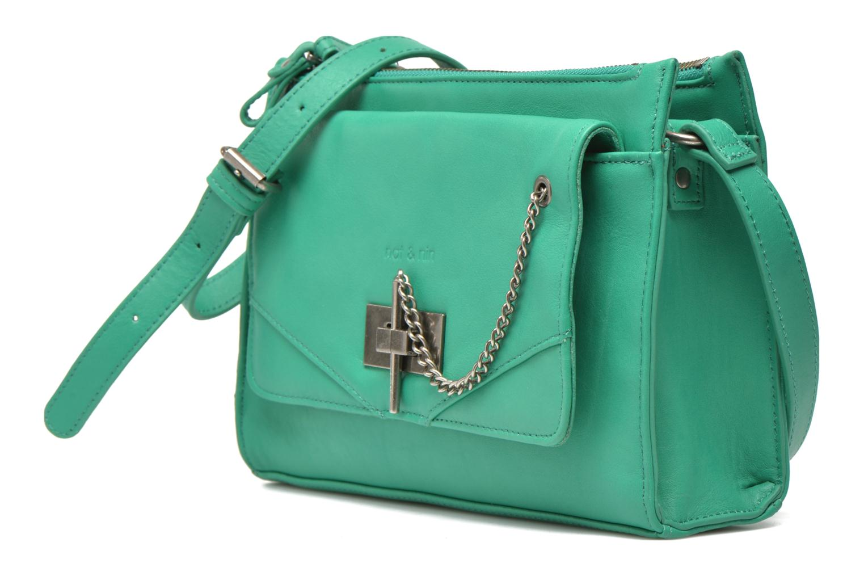Handtaschen Nat & Nin Bianca grün schuhe getragen