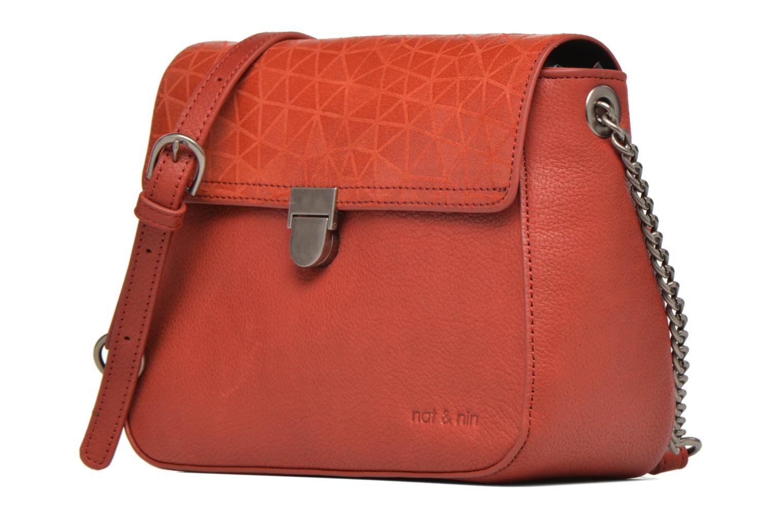 Handtaschen Nat & Nin Nova orange schuhe getragen