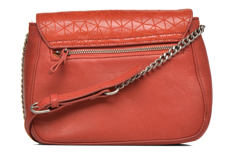 Handtaschen Nat & Nin Nova orange ansicht von vorne
