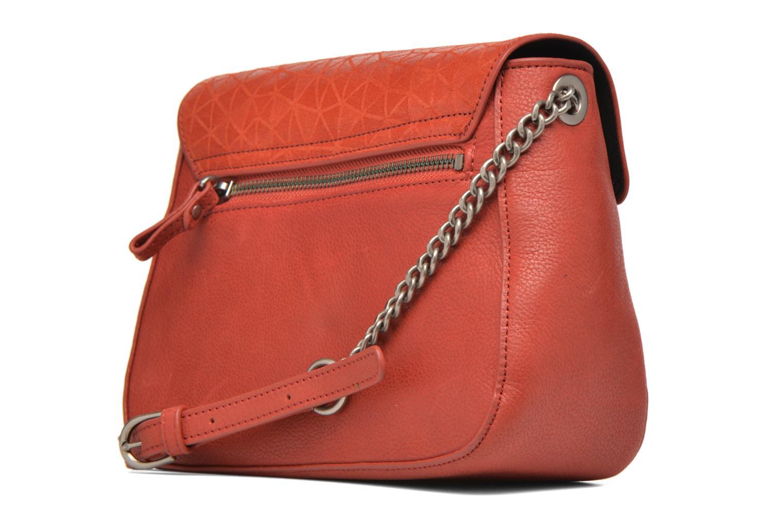 Handtaschen Nat & Nin Nova orange ansicht von rechts