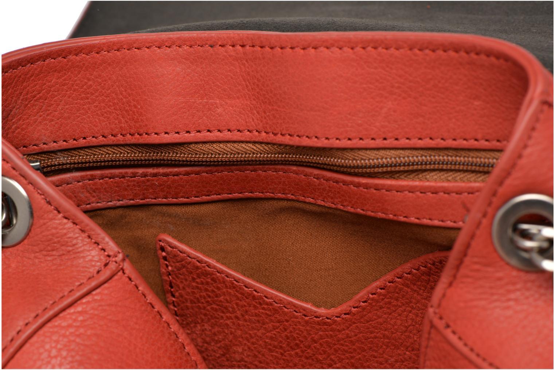 Handtaschen Nat & Nin Nova orange ansicht von hinten