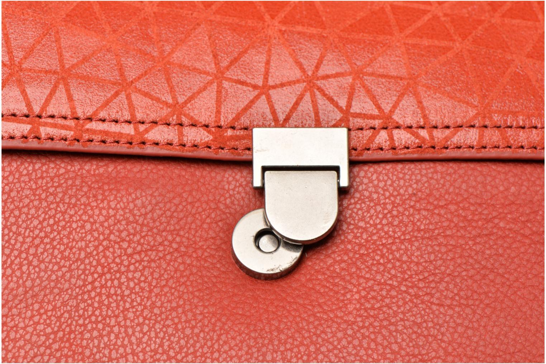 Handtaschen Nat & Nin Nova orange ansicht von links