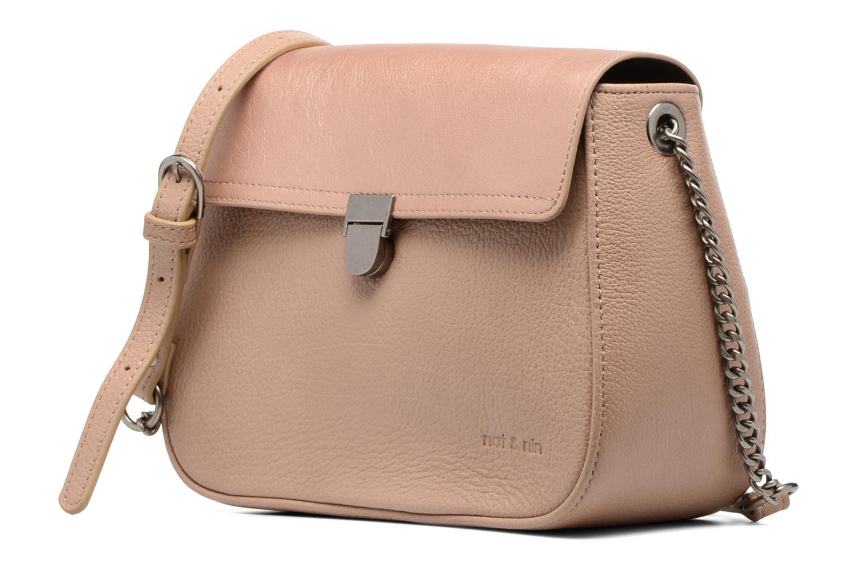 Handtaschen Nat & Nin Nova beige schuhe getragen