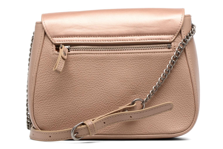 Handtaschen Nat & Nin Nova beige ansicht von vorne