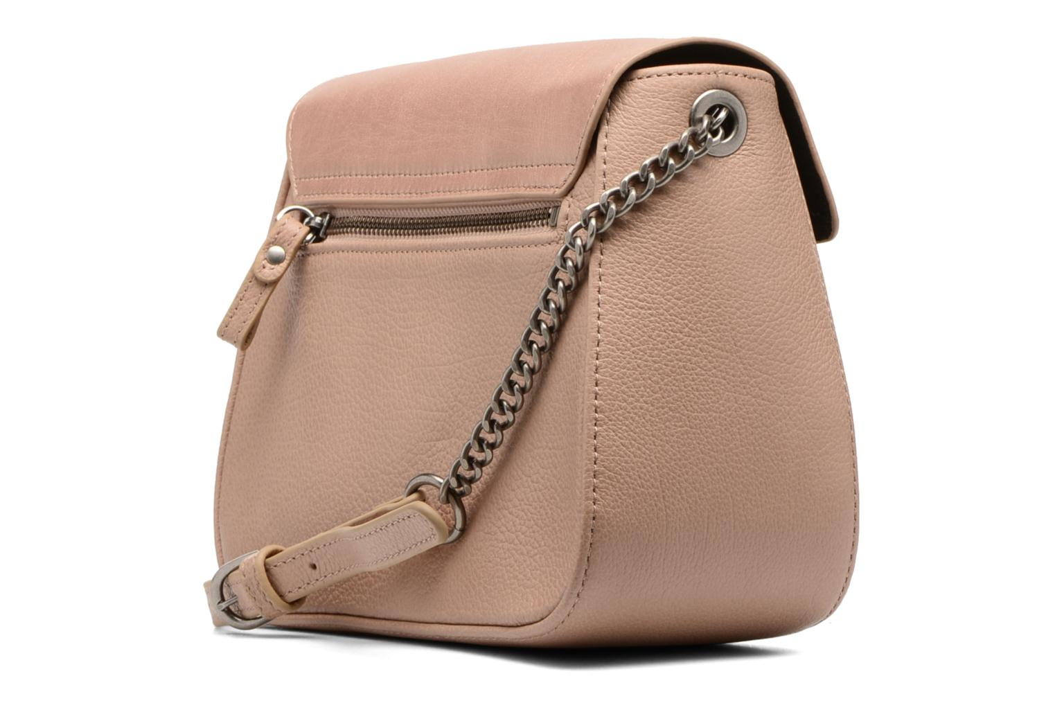 Handbags Nat & Nin Nova Beige view from the right