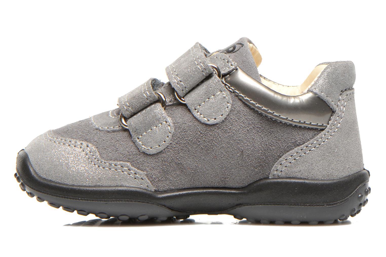 Chaussures à scratch Primigi Agua Gris vue face