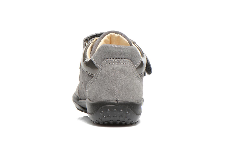 Chaussures à scratch Primigi Agua Gris vue droite