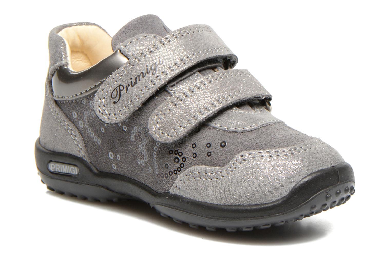 Chaussures à scratch Primigi Agua Gris vue détail/paire