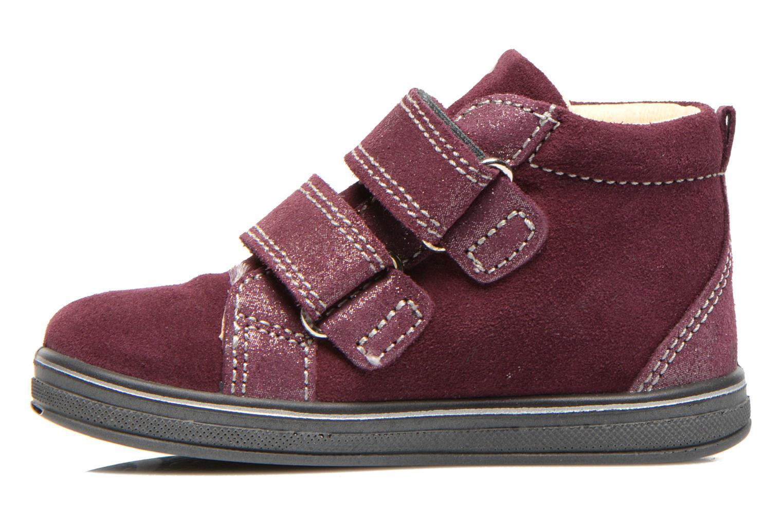 Chaussures à scratch Primigi Fiji Bordeaux vue face