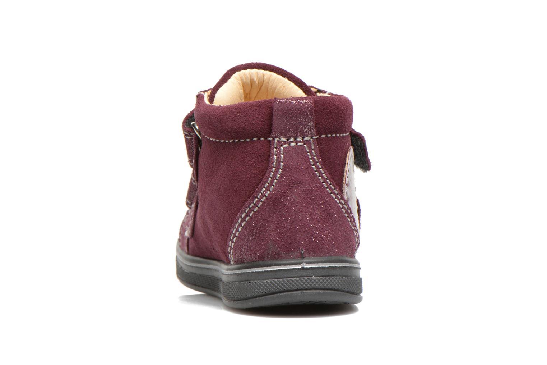 Chaussures à scratch Primigi Fiji Bordeaux vue droite
