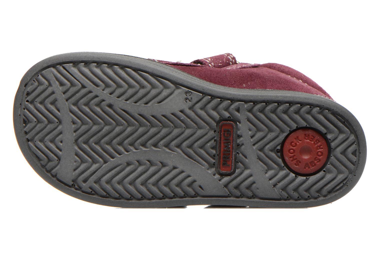 Chaussures à scratch Primigi Fiji Bordeaux vue haut