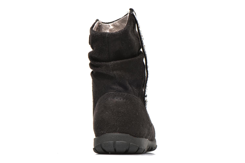 Stiefeletten & Boots Primigi Aileen Velour schwarz ansicht von rechts