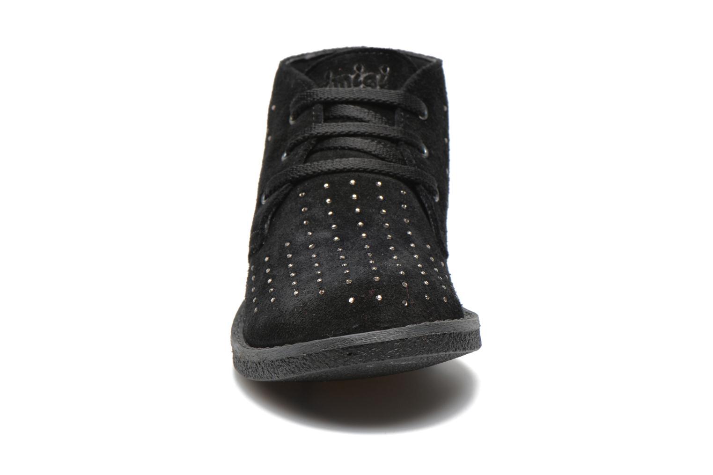 Zapatos con cordones Primigi Timka Negro vista del modelo