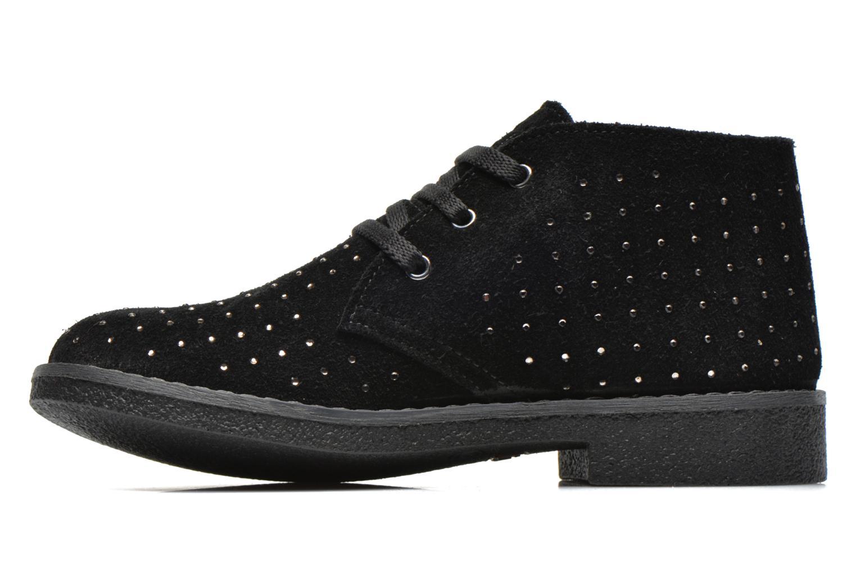 Zapatos con cordones Primigi Timka Negro vista de frente