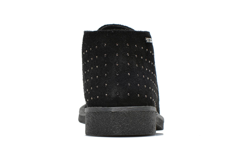 Zapatos con cordones Primigi Timka Negro vista lateral derecha