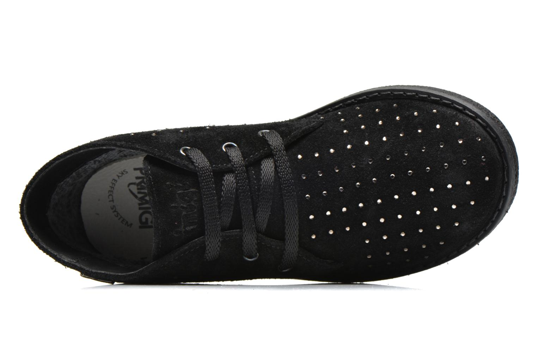 Zapatos con cordones Primigi Timka Negro vista lateral izquierda