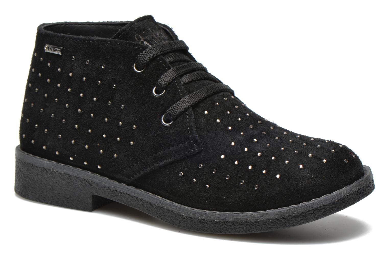 Zapatos con cordones Primigi Timka Negro vista de detalle / par