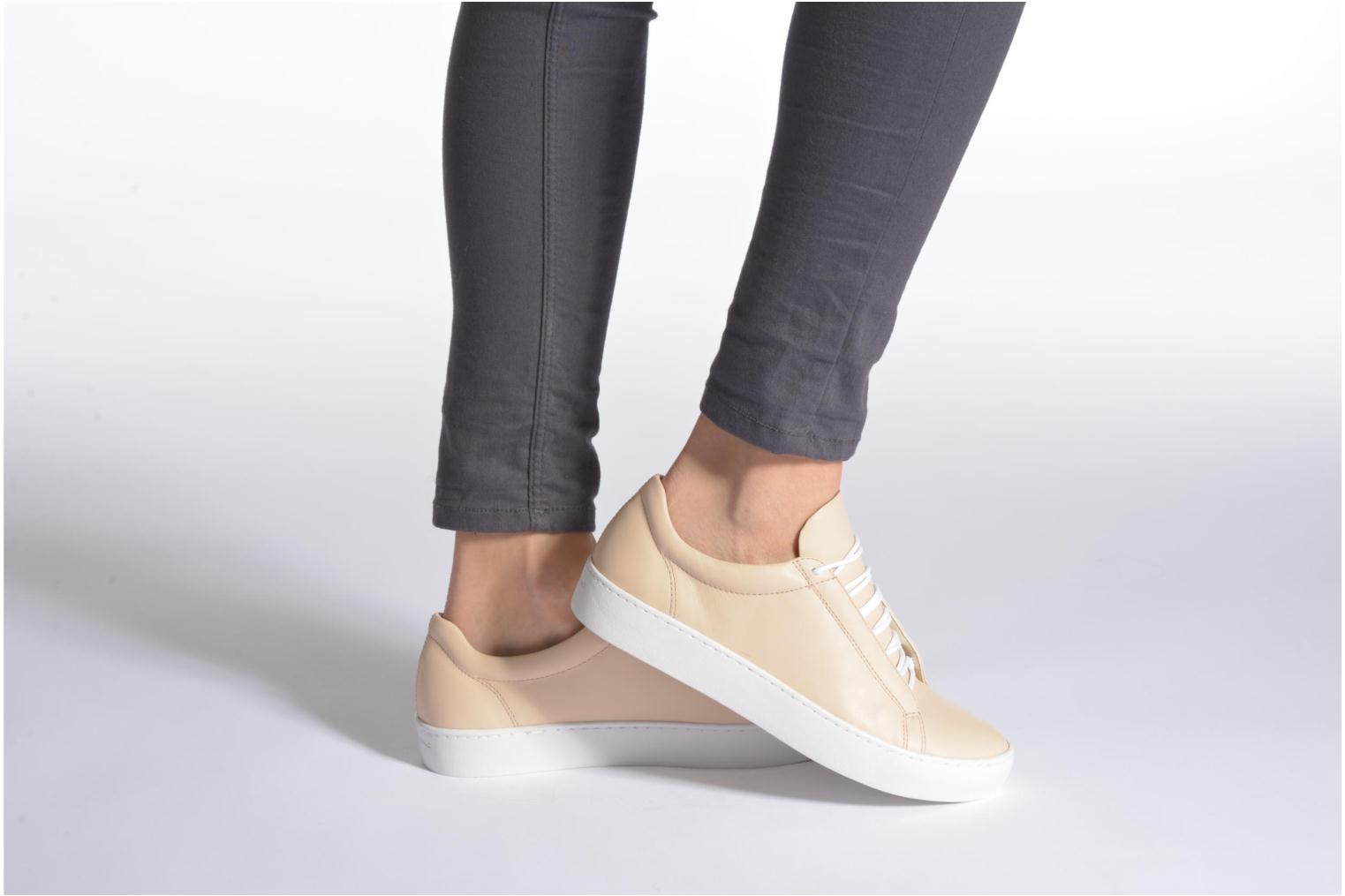 Trainers Vagabond Zoe 4121-001 Beige view from underneath / model view