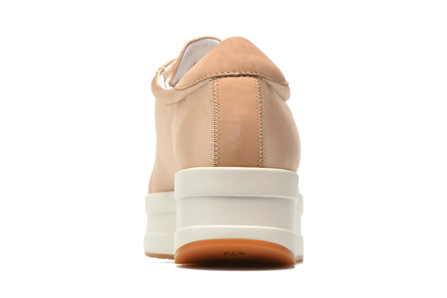 Trainers Vagabond Casey 4322-085 Beige view from the right