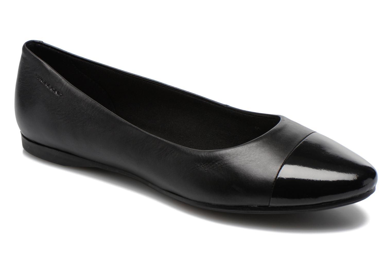 Ballerinaer Vagabond Savannah 4306-302 Sort detaljeret billede af skoene