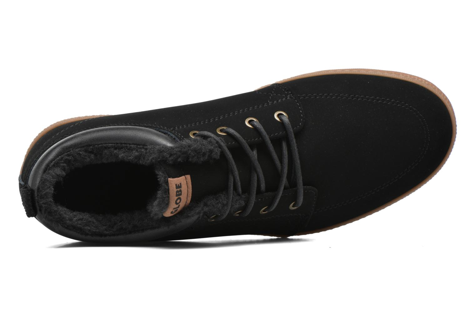 Trainers Globe Gs Chukka Black view from the left