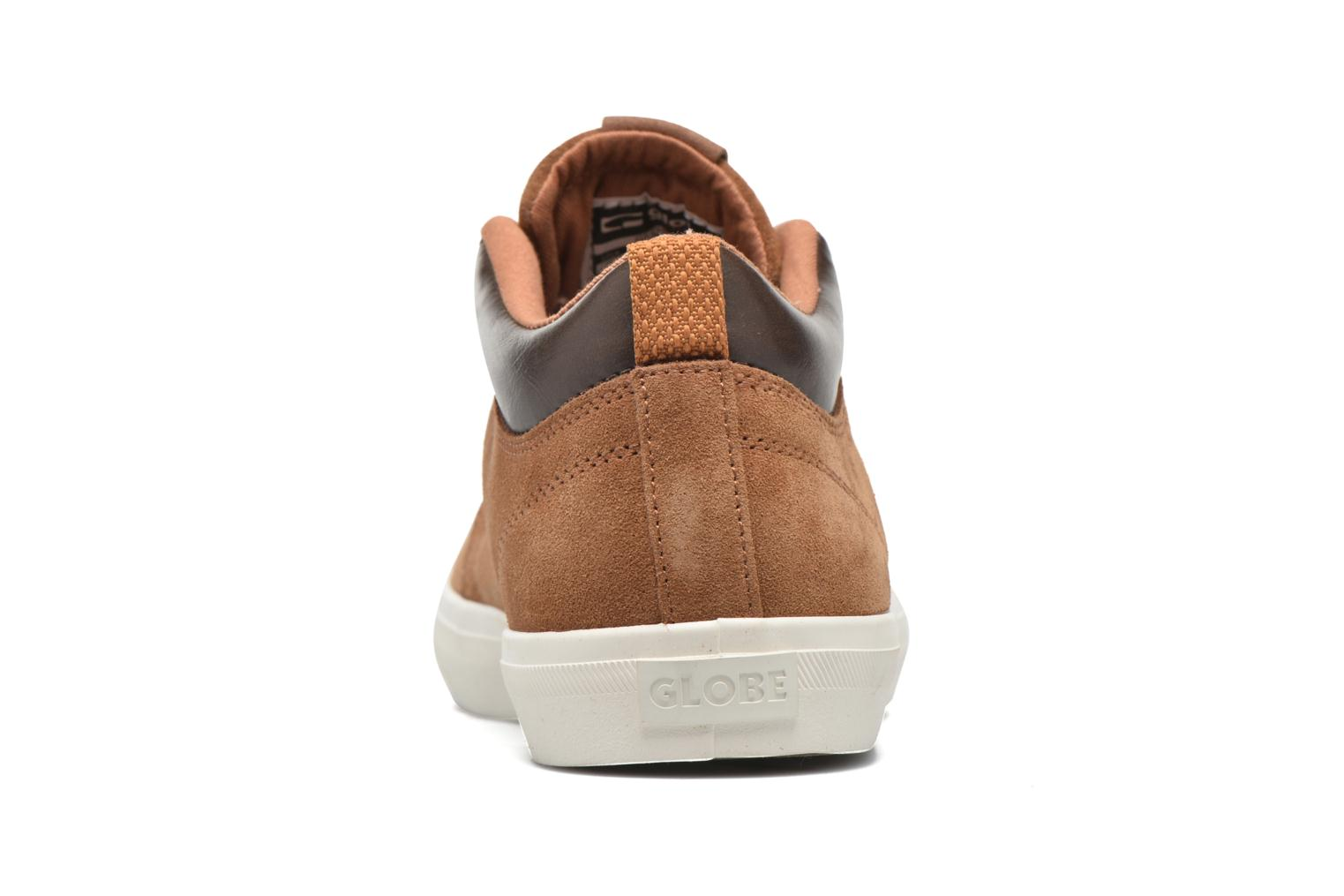 Trainers Globe Gs Chukka Brown view from the right