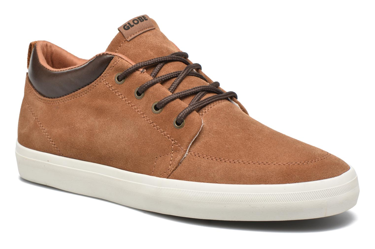 Trainers Globe Gs Chukka Brown detailed view/ Pair view