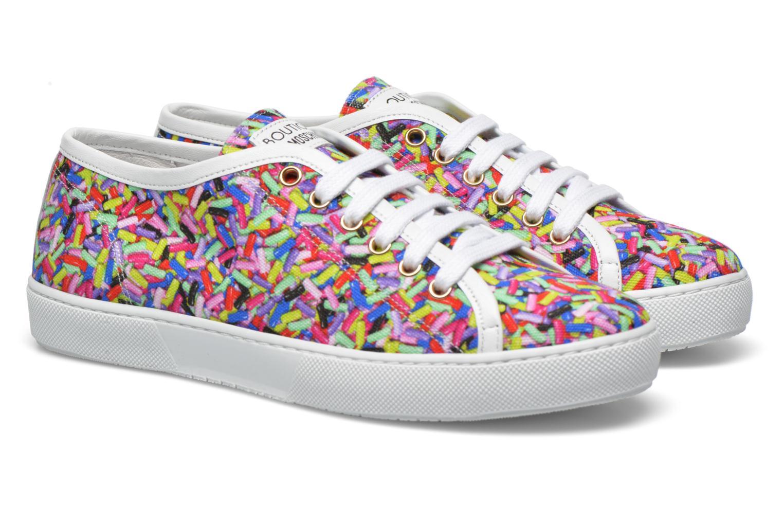 Baskets Boutique Moschino Sneaker candy Multicolore vue 3/4