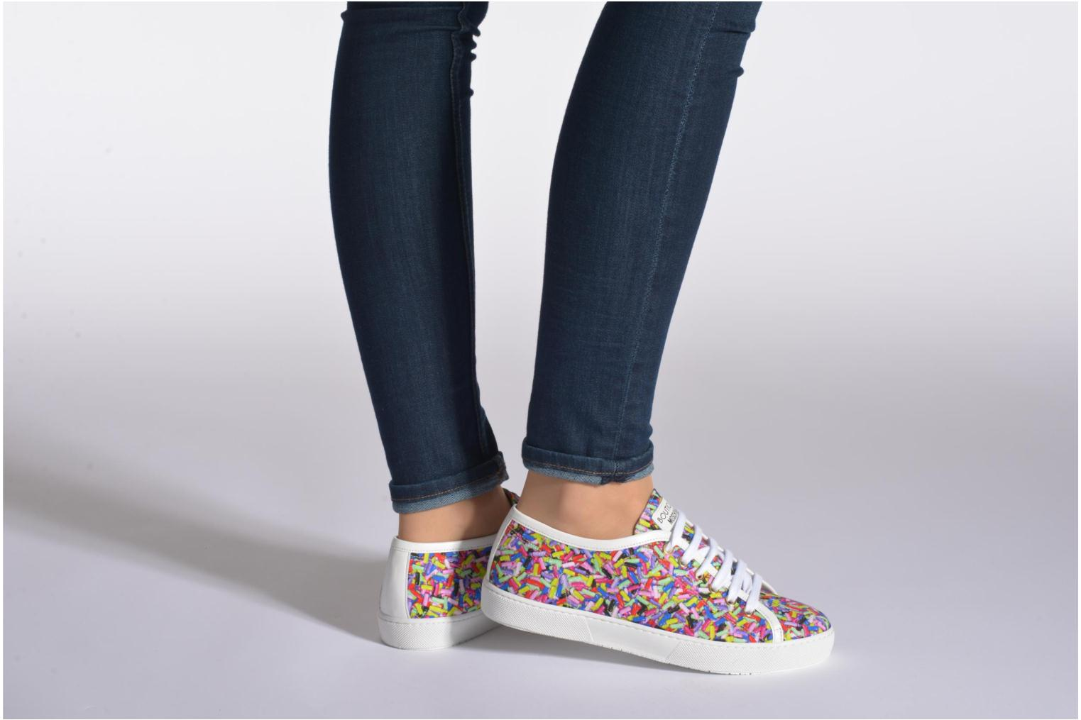 Trainers Boutique Moschino Sneaker candy Multicolor view from underneath / model view