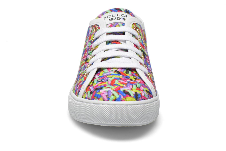 Deportivas Boutique Moschino Sneaker candy Multicolor vista del modelo