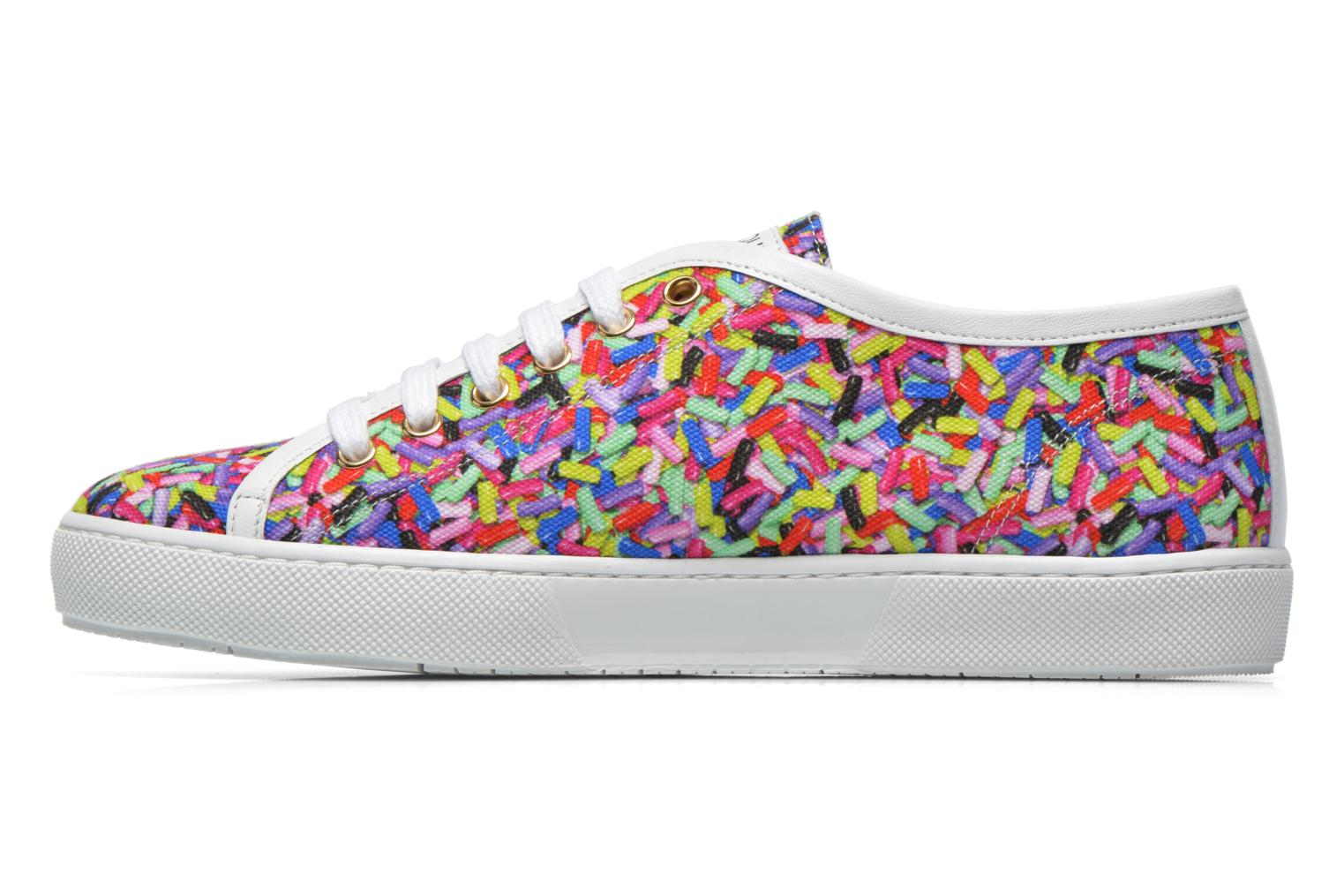 Baskets Boutique Moschino Sneaker candy Multicolore vue face
