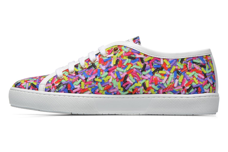 Deportivas Boutique Moschino Sneaker candy Multicolor vista de frente