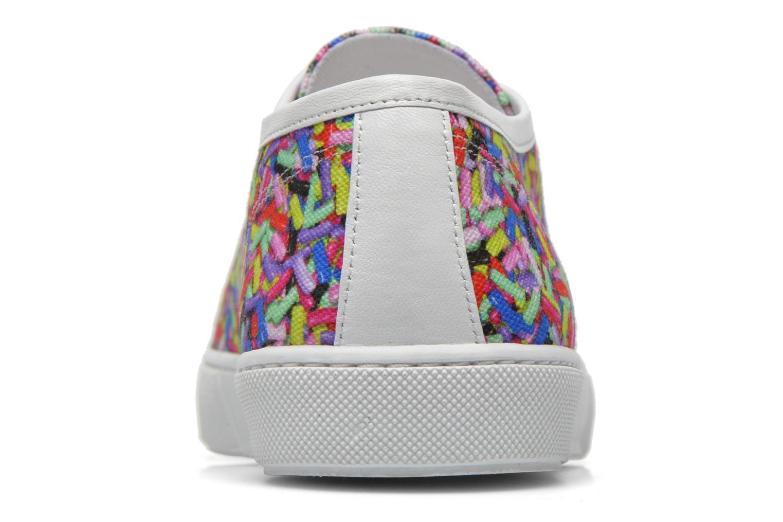Deportivas Boutique Moschino Sneaker candy Multicolor vista lateral derecha
