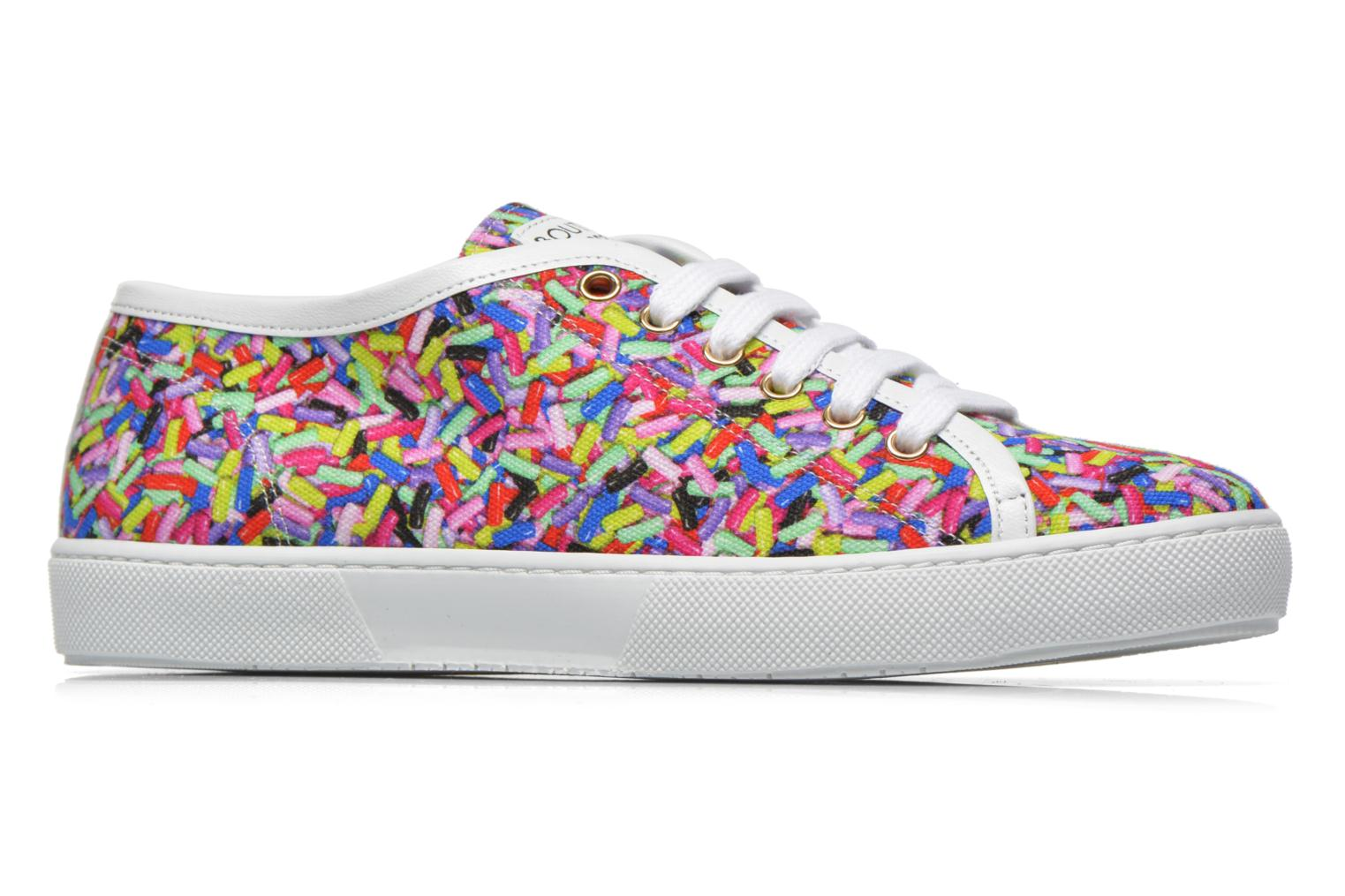 Trainers Boutique Moschino Sneaker candy Multicolor back view